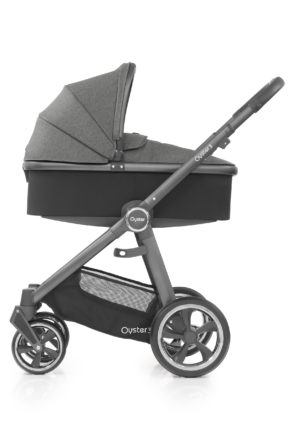 Oyster3_Carrycot_onChassis_CityGrey_Mercury