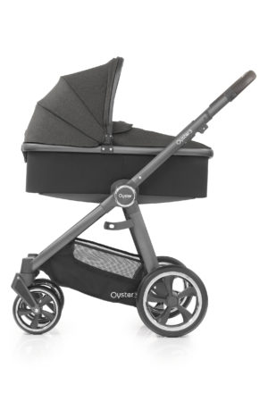 Oyster3_Carrycot_onChassis_CityGrey_Pepper